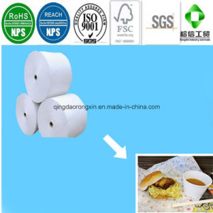 PE Coated Paper for Lotteria Hamburger Packaging pictures & photos