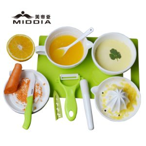 Ceramic Kitchen Mills for Baby Food Grinder/Juicer/Knife/Peeler Set pictures & photos