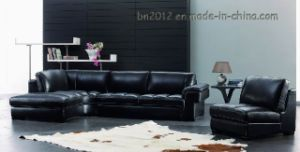 Living Room Genuine Leather Sofa (SBO-3999) pictures & photos