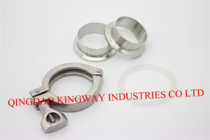 Stainless Steel Sanitary Heavy Duty Clamp. pictures & photos