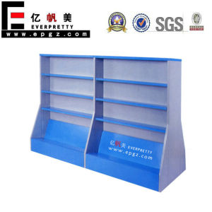 High Quality Wooden Double Side Bookshelf (DG-13A) pictures & photos
