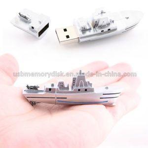 Metal Naval Ship Flash Memory U Disk Drive (MT-020)