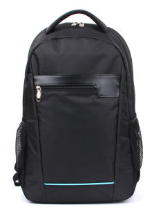 Top Quality Backpack with Jacquard and PU Material (B0037NB)
