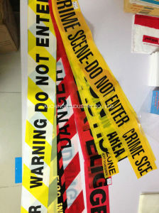 Plastic Police Caution Tape Crime Scene Tape on a Roll pictures & photos