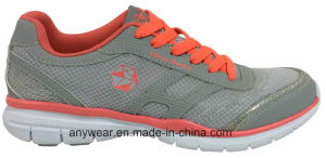 Ladies Women Gym Sports Running Shoes Walking Footwear (515-2564) pictures & photos