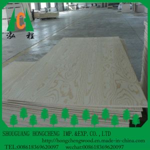 Wooden Grain Melamine Faced HPL Plywood pictures & photos
