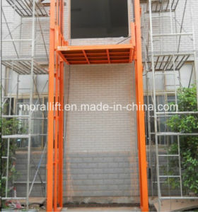 Customized Vertical Hydraulic Cargo Lift pictures & photos