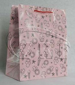 Fashion Art Paper Handle Bag pictures & photos