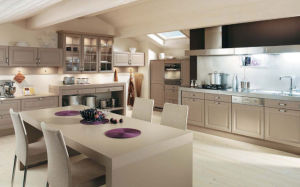 Custom Made PVC Modern Kitchen Furniture (zc-035) pictures & photos