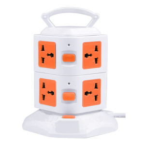 4USB Good Quality and Commerical Power Socket with CE