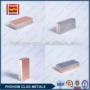 Explosion Bonding Copper T2 Aluminium Clad Plate pictures & photos