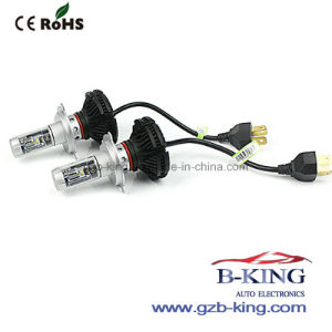 New LED Philips Hi/Lo H4 6000lm Car LED Headlight Bulb pictures & photos