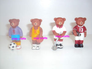 Resin Mini Bears Crafts Gifts pictures & photos
