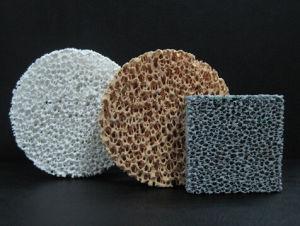 Silicon Carbon/Alumina/Zirconia Ceramic Foam Filter for Metal Casting pictures & photos