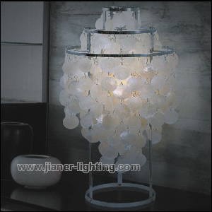 Modern Elegance Reading Table Desk Light Lighting with Shell Shade pictures & photos