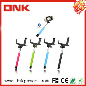 Wholesale Colorful Wireless Bluetooth Monopod Wired Selfie Stick