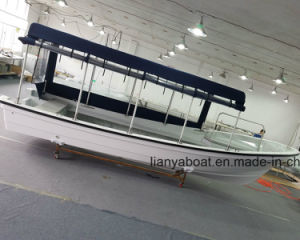 Liya 25FT Panga Fishing Boat Fiberglass Boat with Motor Sale pictures & photos