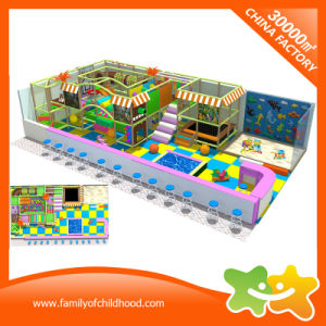 Manufacturers Children′s Rope Course Indoor Playground for Mall pictures & photos