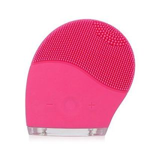 Facial Cleansing Brush and Face Massager, New Ultrasonic Silicone Facial Cleansing System for Face Clear Polish and Scrub