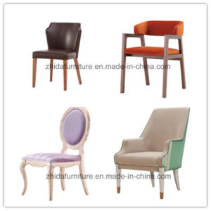 Chair/Restaurant Chair/Foshan Hotel Chair/Solid Wood Frame Chair/Dining Chair pictures & photos