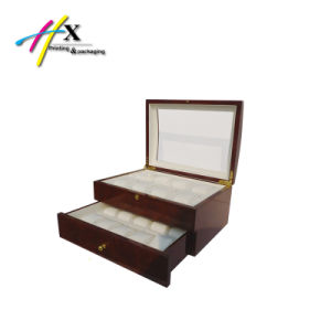 Luxury Men Watch Display Wooden Box with 4-12 Slots (Hx521) pictures & photos