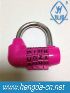Yh9187 5-Digits Alphabet Resettable Combination Code Lock Number Padlock pictures & photos