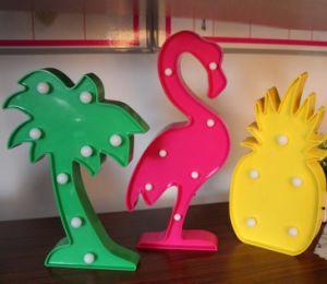 Ins Hotsale Home Decor Gift Lamp LED Flamingo Pineapple Horse Cactus Deer Desk Nightlight pictures & photos