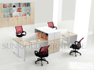 New Design Modern Office Workstation with Filing Cabinet (SZ-WS307) pictures & photos