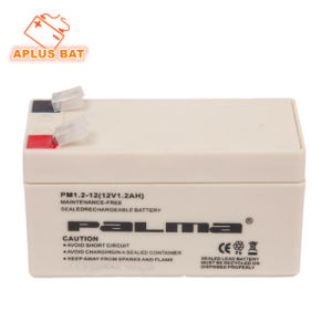 Pure Lead Making VRLA Battery 12V 1.2ah for Alarm System pictures & photos