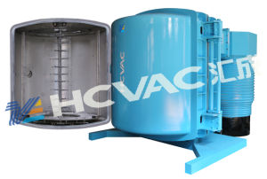 Disposable Plastic Silver Spoon Coating Machine/Plastic Spoons Vacuum Metallizing Machine pictures & photos
