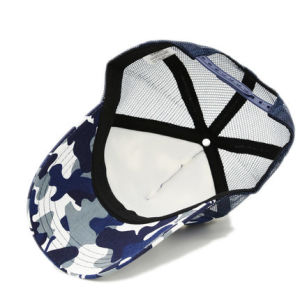 Fashion Leisure Mesh Trucker Baseball Cap Snapback Camo Hat with Custom Logo pictures & photos