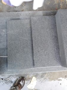 Cheap Black Padang Granite G654 Flamed Driveway Paving Stones pictures & photos
