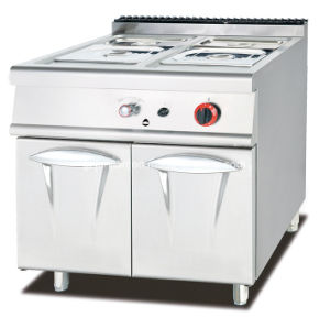 Commercial Gas Pasta Cooker with Cabinet 12 Baskets pictures & photos