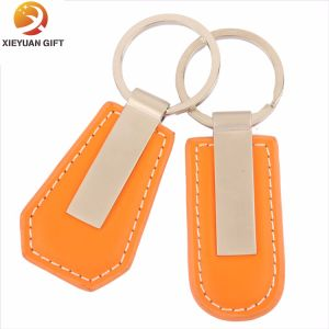Favorable Braided Leather Keychain with Good Quality pictures & photos