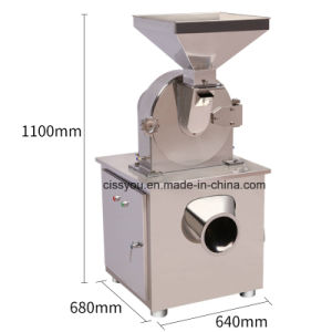 Stainless Steel Grain Medicine Sugar Salt Food Chemical Hammer Crusher pictures & photos