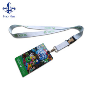 Promotional Custom Polyester Lanyard No Minimum Order pictures & photos