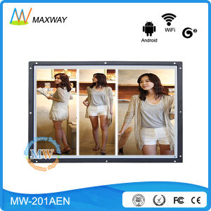 New Android 20 Inch LCD Advertising Digital Signage with WiFi 3G 4G (MW-201AEN) pictures & photos