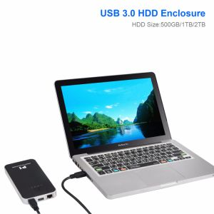 Wireless Mobile Portable Hard Drive Storage 500GB/1tb/2tb pictures & photos