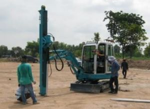 Ce Approved Swdl600 Augered Pile Rig pictures & photos