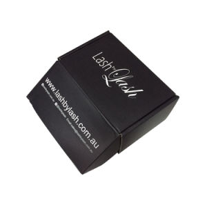 Shipping Usage Customized Size Corrugated Matte Finished Gift Black Box pictures & photos