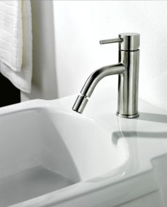 Stainless Steel Bathroom Single Lever Handle Basin Water Tap pictures & photos