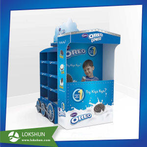 Pop Supermarket Cardboard Display Rack Paper Pallet Display pictures & photos
