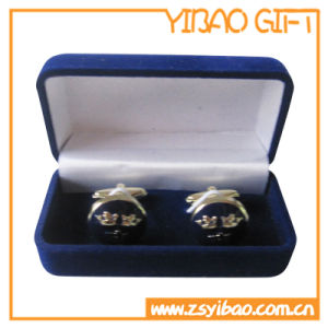 Promotion Dark Blue Velvet Box for Coin (YB-PB-10) pictures & photos