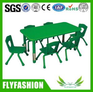 Preschool Wooden Furniture Children Table for Kids (KF-03) pictures & photos