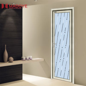 Insulating Glass Chinese Casement Toilet Door pictures & photos