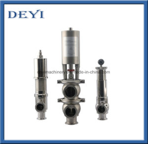 Stainless Steel Sanitary Pneumatic Reversal Valve pictures & photos