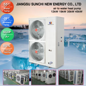 Hot Water 3kw 5kw 7kw 9kw Air Source Heat Pump pictures & photos
