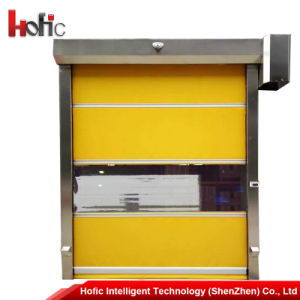 Automatic High Speed Fast PVC Rolling Shutter Door pictures & photos