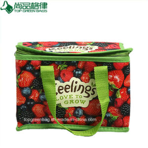Full Colors Printing Laminated PP Non Woven Lunch Cooler Bag pictures & photos