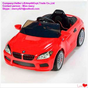 LED Light Kids Electric Car with Remote Control pictures & photos